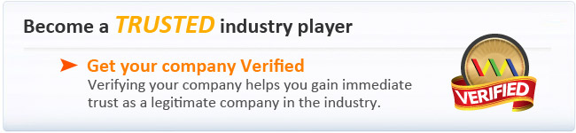 Get your company verified